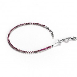 Cesare Paciotti Coloured Light bracciale argento